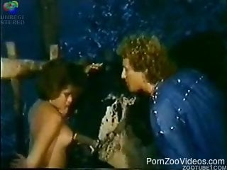 Vintage horse porn in brutal scenes with a namked woman