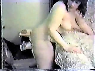 Sexy grey doggy and BBW have amazing bestiality action
