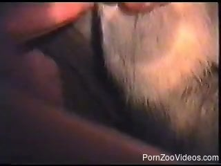 Awesome amateur bestiality action with my horny doggy